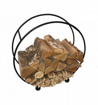 Log Basket Round