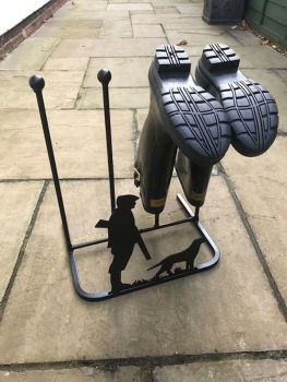 2 Pair Boot Rack - Gun Down