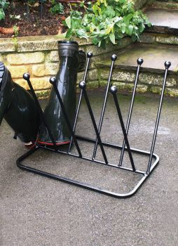 5 Pair Diagonal Boot Rack (Round)