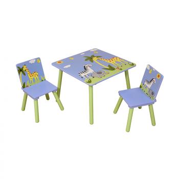 Safari Table & 2 Chair Set