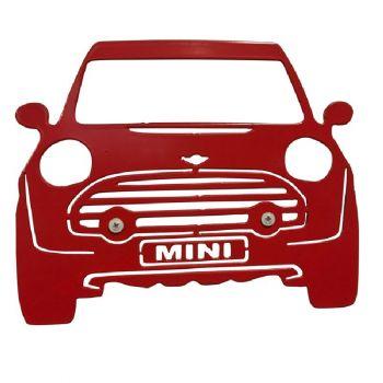 Mini Car Metal Wall Art - Large
