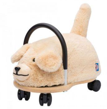 Plush Wheely Bug Yellow Dog