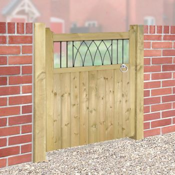 Windsor Wooden Single Gate 90cm Wide x 120cm High
