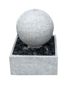 Zen Rippling Sphere 30cm