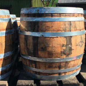 Original Oak Whiskey Barrel - 200L Water Butt