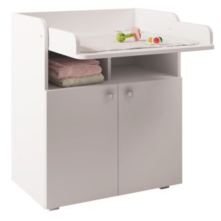 Kidsaw Kudl Kids Changing Board Cupboard with Storage 1270 - White