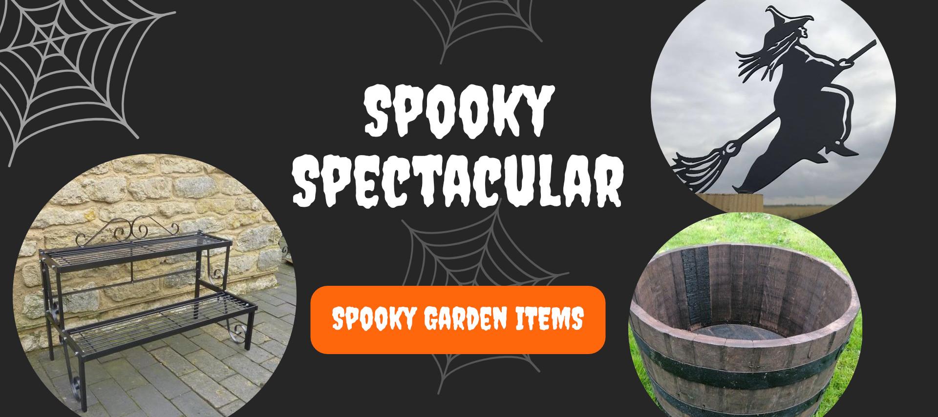 Halloween Garden Items